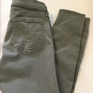 Rag & Bone Skinny Distressed Sage Jeans